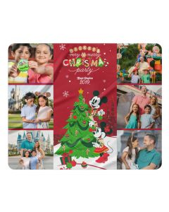 2019 Mickey's Very Merry Christmas Party Blanket