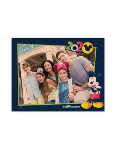 2020 Walt Disney World Wood Block Print