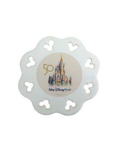 50th Anniversary Castle Logo Ornament