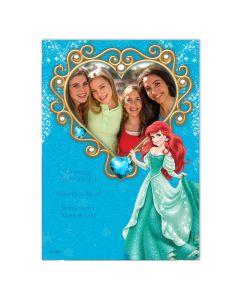 Disney Ariel Heart Card