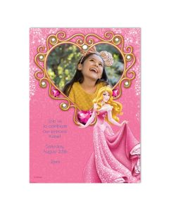Disney Aurora Heart Card