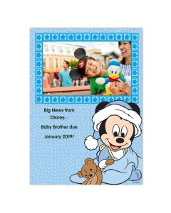 Mickey Mouse Baby Card