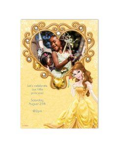 Disney Belle Heart Card