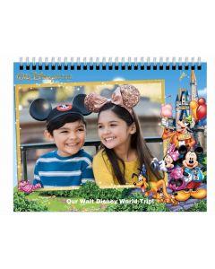 Disney Parks 12 Month Calendar