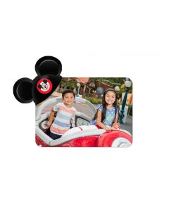 Black Mouseketeer Hat Mickey Ears Magnet