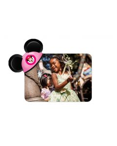 Pink Mouseketeer Hat Mickey Ears Magnet