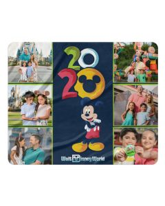 2020 Walt Disney World Sherpa Photo Blanket