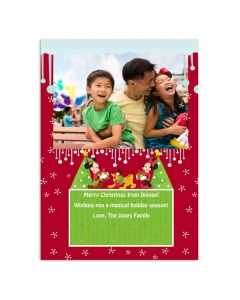 Disney Mickey Mouse & Friends Christmas Card