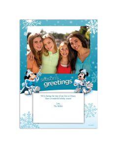 Disney Snowflake Christmas Card