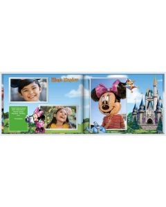 Disney Theme Parks Photo Book