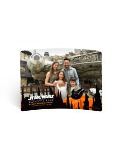 Star Wars Galaxy's Edge Metal Print