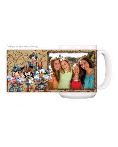 Disney Fab 5 Pirates Mug