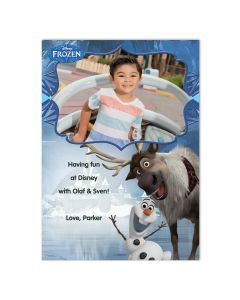 Disney Frozen Olaf & Sven Card