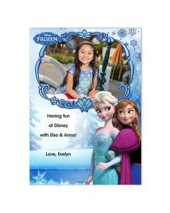 Disney Frozen Anna & Elsa Card