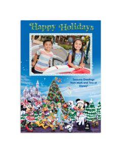 Disney Holiday Castle Card