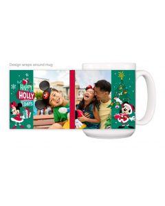 Mickey & Minnie Happy Hollydays Mug