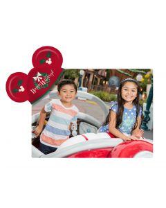 Happy Holidays Mickey Ears Coaster