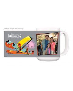 Incredibles 2 Gray Mug