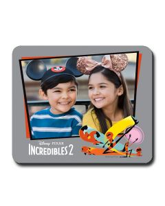 Incredibles 2 Gray Mouse Pad