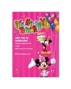 It's My Birthday Pink Card