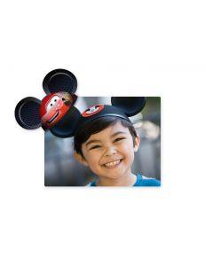 Lightning McQueen Mickey Ears Magnet