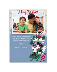 Castle Merry Christmas Card