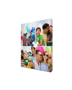 Mickey Collage Photo Canvas