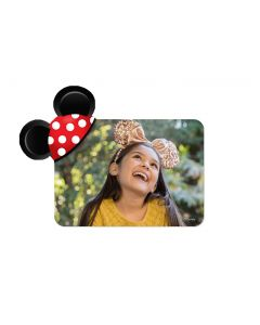Minnie Mouse Polka Dots Mickey Ears Magnet