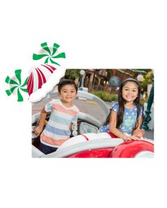 Peppermint Mickey Ears Place mat