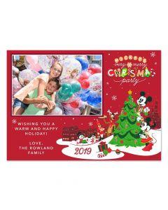Mickey's Very Merry Christmas Party Tree Card