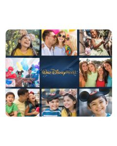 Walt Disney World Park Logo Sherpa Photo Blanket