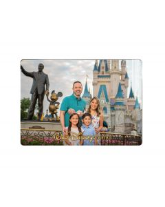 Walt Disney World Park Logo Metal Print