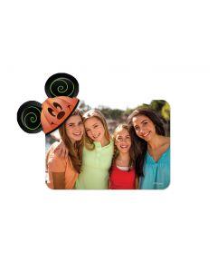 Pumpkin Mickey Ears Magnet