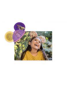 Disney Rapunzel Mickey Ears Magnet