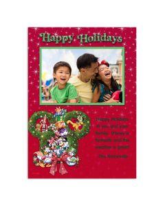 Disney Happy Holidays Card