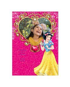 Disney Snow White Heart Card