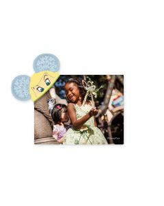 Tinker Bell Mickey Ears Magnet