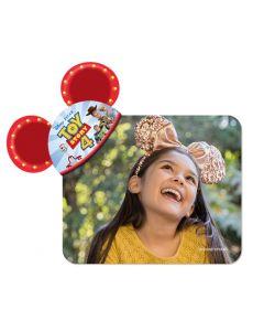 Toy Story 4 Mickey Ears Coaster