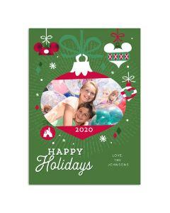 Tree Farm Holidays Card