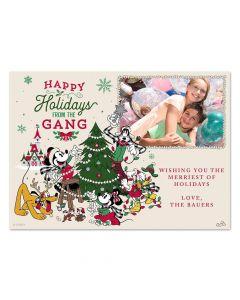 Tree Farm Holidays Gang Card