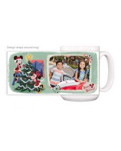 Vintage Happy Holidays Mug